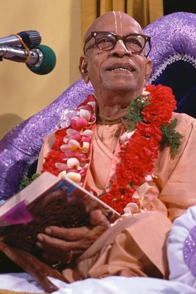 His Divine Grace A.C. Bhaktivedanta Swami Prabhupada - Founder Acarya of the International Society for Krishna Consciousness