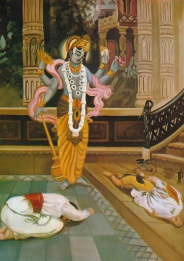 krishnas-appearance